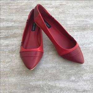 Iron Fist Shoes - Iron Fist Red Crayola flat